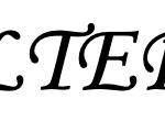 Monotype Corsiva Skrifttype til skilt hos Skilteriet Vemmelev