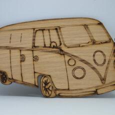 VW Rugbrød i egetræsfinér