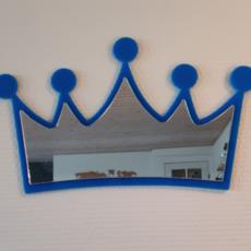 Krone med spejl